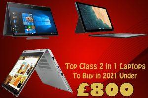 best 2 in laptops 2021